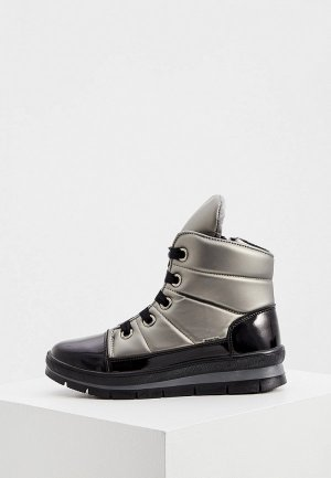 Ботинки Jog Dog. Цвет: серебряный
