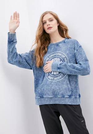 Свитшот DKNY. Цвет: синий
