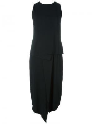 Платье Costa Minimarket. Цвет: чёрный