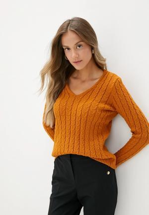 Пуловер adL. Цвет: коричневый