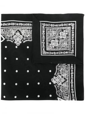 Бандана с принтом Dolce & Gabbana. Цвет: чёрный