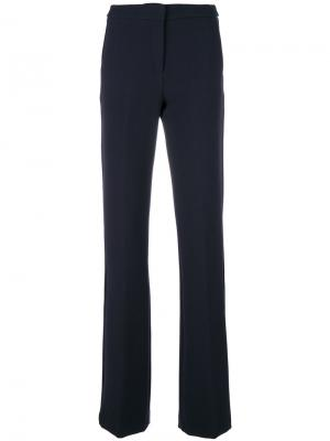 Расклешенные брюки с завышенной талией Ki6. Цвет: синий