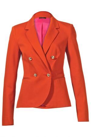 Блейзер APART. Цвет: оранжево-красный