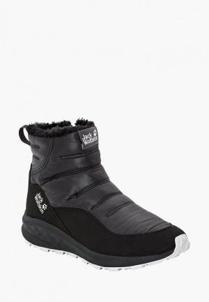 Ботинки Jack Wolfskin. Цвет: черный