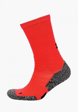 Носки Under Armour. Цвет: красный