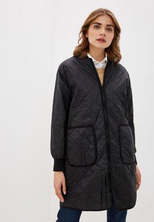 Куртка утепленная Soaked in Luxury. Цвет: черный