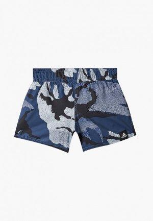 Шорты для плавания adidas. Цвет: синий