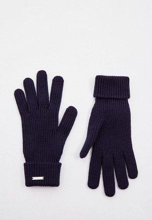 Перчатки Woolrich. Цвет: синий