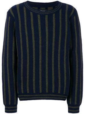 Полосатый свитер Howlin Howlin'. Цвет: синий