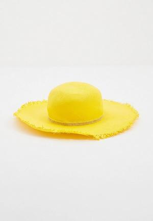 Шляпа Patrizia Pepe. Цвет: желтый