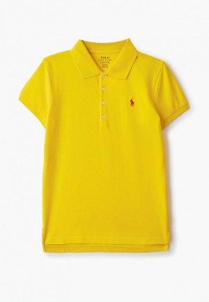 Поло Polo Ralph Lauren. Цвет: желтый