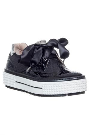 Low shoes LORETTA PETTINARI. Цвет: black