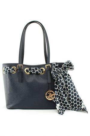 Bag BEVERLY HILLS POLO CLUB. Цвет: темно-синий