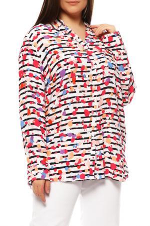 Блуза FRANK WALDER. Цвет: мультицвет