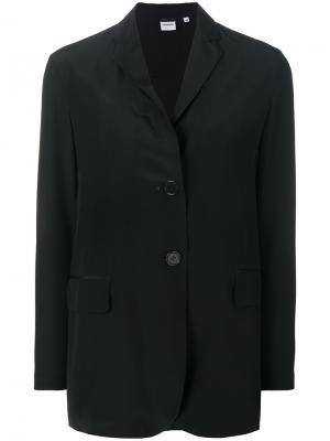 Пиджак свободного кроя Aspesi. Цвет: чёрный