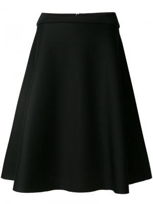 Расклешенная юбка Chalayan. Цвет: чёрный