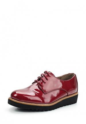 Ботинки Kylie. Цвет: бордовый