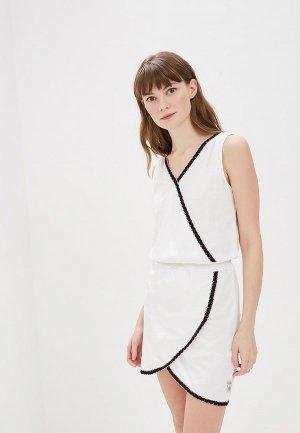 Платье Torstai. Цвет: белый