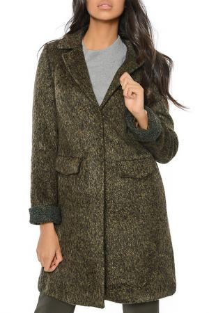 Coat DEWBERRY. Цвет: brown