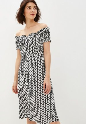 Платье Glamorous. Цвет: черный