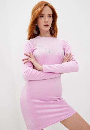 Платье Juicy Couture. Цвет: розовый