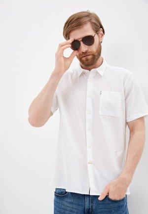 Рубашка Barbour. Цвет: белый