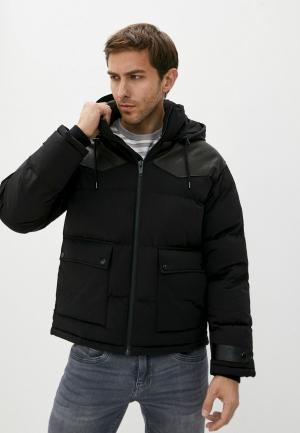 Куртка утепленная The Kooples. Цвет: черный