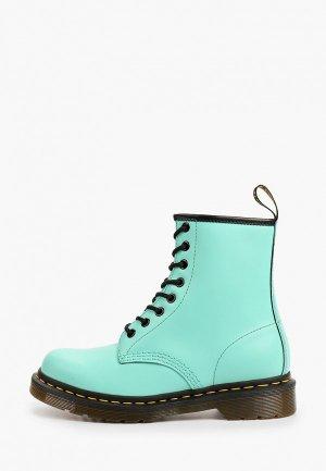 Ботинки Dr. Martens. Цвет: бирюзовый