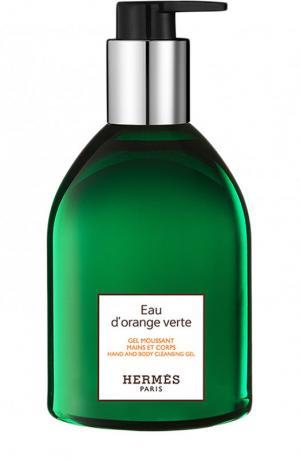 Гель для рук Eau dorange verte Hermès. Цвет: бесцветный