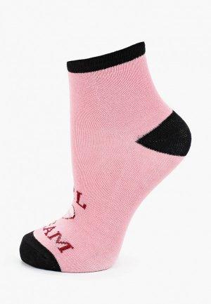 Носки Sela. Цвет: розовый