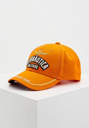 Бейсболка Aeronautica Militare. Цвет: оранжевый