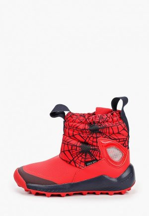 Дутики adidas. Цвет: красный