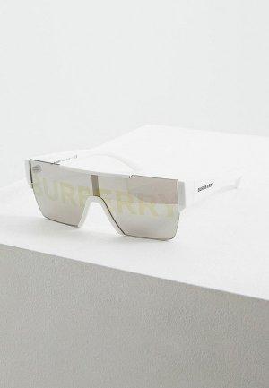 Очки солнцезащитные Burberry. Цвет: белый