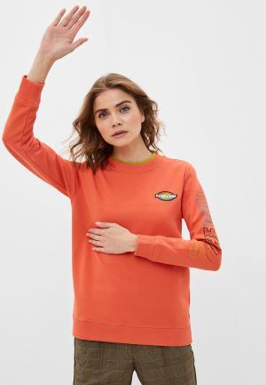 Свитшот Vans. Цвет: оранжевый