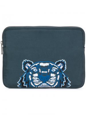 Сумка для ноутбука Tiger Kenzo. Цвет: зелёный