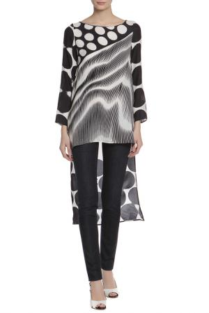 Блуза CLIPS. Цвет: черный