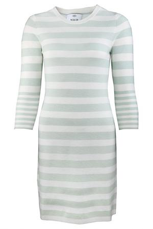 Платье Allude. Цвет: зеленый