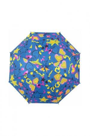 Зонт-трость Zemsa. Цвет: мультицвет