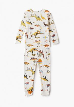 Пижама Gap. Цвет: бежевый