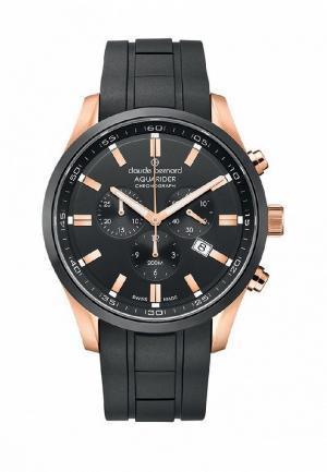 Часы Claude Bernard. Цвет: черный