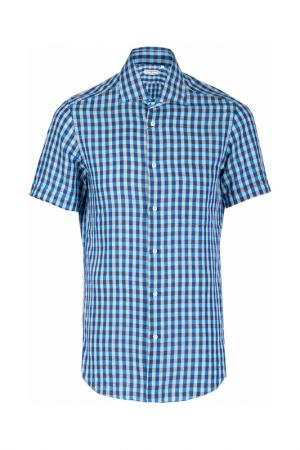 Рубашка LUCIANO BARBERA. Цвет: цветной