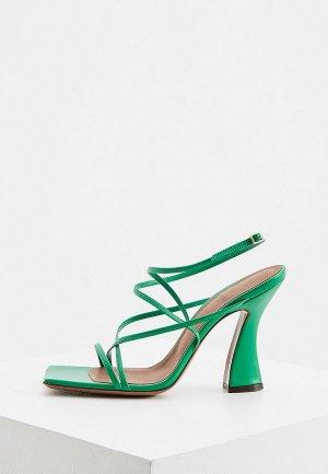 Босоножки LAutre Chose L'Autre. Цвет: зеленый