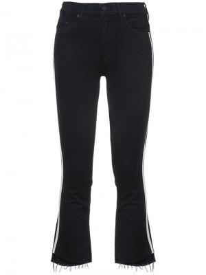 Укороченные джинсы Mother. Цвет: чёрный