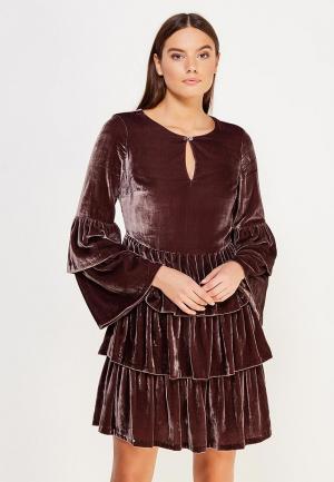 Платье Banana Republic. Цвет: коричневый