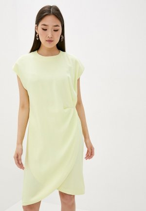 Платье LAutre Chose L'Autre. Цвет: желтый
