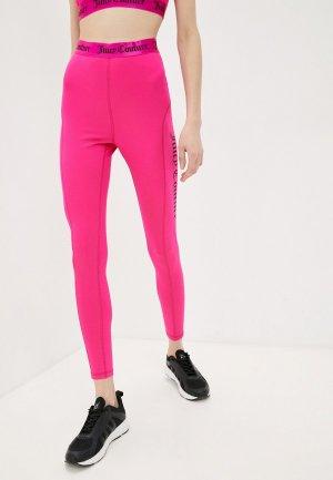 Леггинсы Juicy Couture. Цвет: розовый