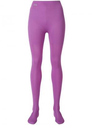 Колготы Shapy Balenciaga. Цвет: розовый и фиолетовый
