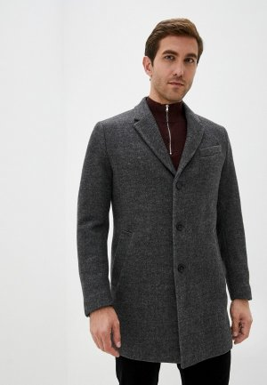 Пальто Mango Man. Цвет: серый