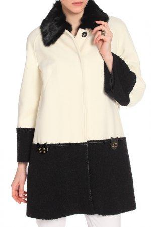 Пальто 22MAGGIO. Цвет: белый