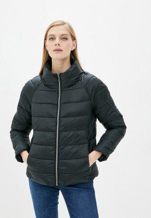 Куртка утепленная Zolla. Цвет: черный